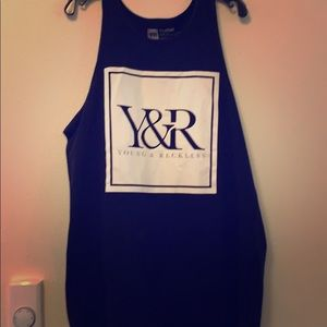 XL Young and Reckless tank